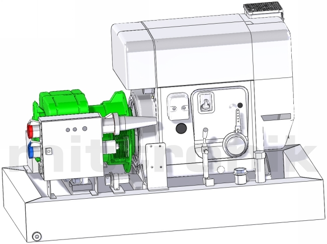 notstromaggregat diesel leise diesel notstromaggregat im. Black Bedroom Furniture Sets. Home Design Ideas