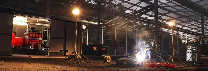 Scania Diesel Power Generator Sets Gensets