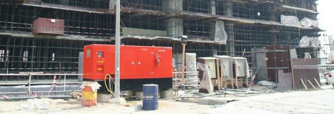 Diesel Generator Sets 1500 U Min Open Weather And